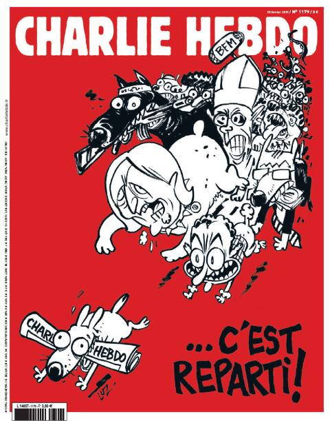 Charlie Hebdo du 25 février