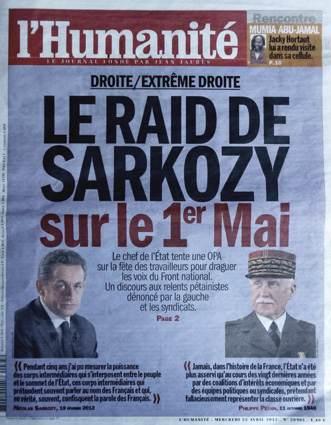 L'Humanité du 25 avril 2012