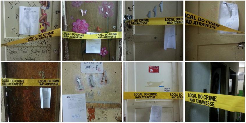 Appartements de prostituées fermés par la police à Niteroi.