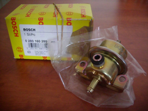 Photo 2. Régulateur d'essence Bosch, très proche de ceux montés sur les Aprilia et Toyota Corolla de marque Nippon Denso.