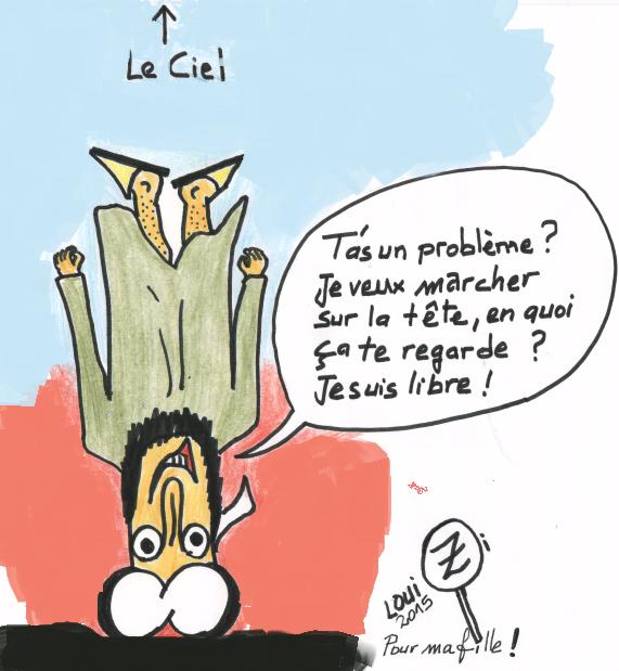 « Finesse » contre « connerie » : Le combat éternel ! dans Religion Marcher_sur_la_tete