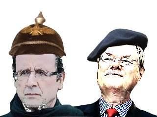 Jim Hollande et Jules Steinbrück