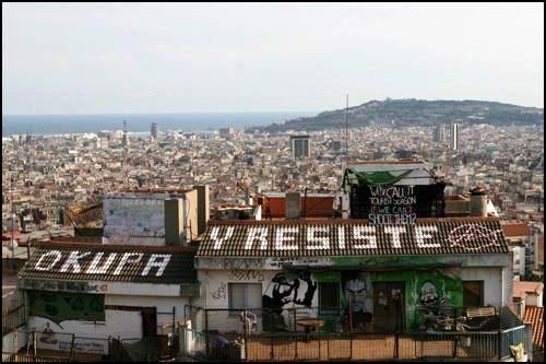 Un mouvement qui prend racine dans les quartiers de la ville catalane.