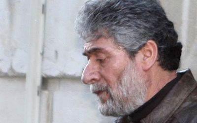 Georges Ibrahim Abdallah en janvier 2013. Le plus ancien prisonnier politique en Europe (DR)