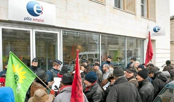 À Bordeaux, lors de la journée d'action nationale du 17 janvier.