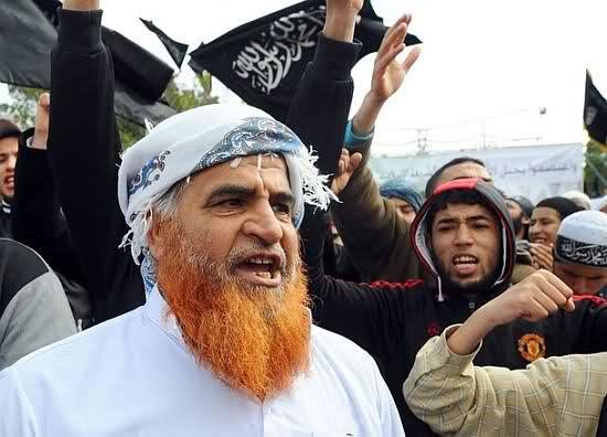 Manifestation salafiste à Tunis.
