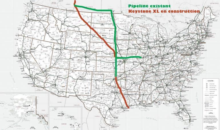 Le parcours du pipeline