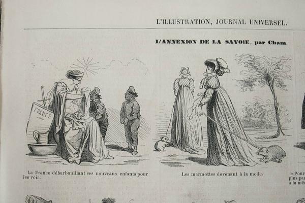 """""""L'Illustration, Journal Universel"""", Paris, 1860."""
