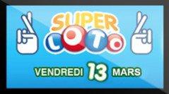 Super Loto du vendredi 13 mars 2015