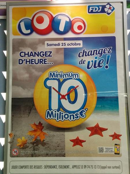 affiche super loto 10 millions d'euros