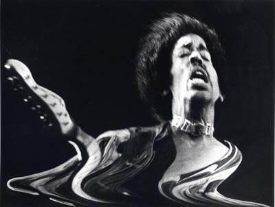 Jimmi Hendrix photographié par Horace en 1970