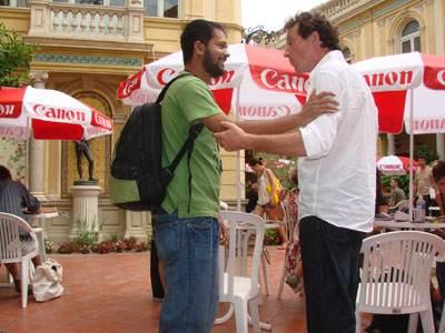 Munem Wasif et Christian Povéda, tous deux représentés par l'agence VU'