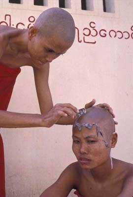 Nones en Birmanie Copyright Brigitte Cavanagh / ANA