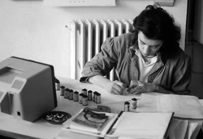 Dans les années 80, le Minitel est sur tous les bureaux. Photo Collection Puech