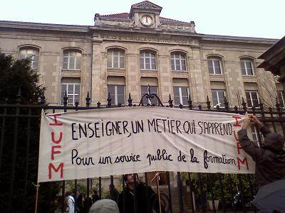 Banderoles IUFM de Lyon