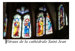 Vitraux cathédrale Saint Jean