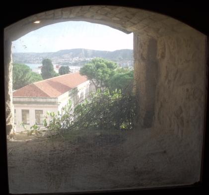 vue du château de Crotone