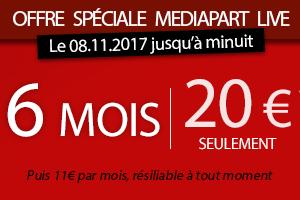 Offre spéciale 6 mois pour 20€