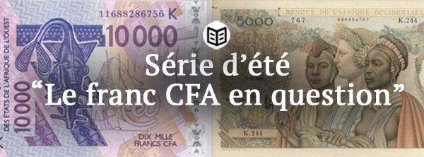 Actualité du franc CFA