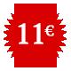 onze euros par mois